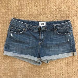 Paige denim jean shorts